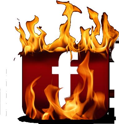 On-Fire-Facebook-Logo-psd61160